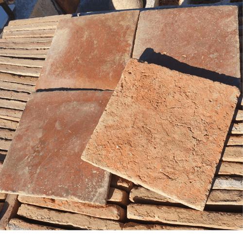 baldosa de barro en antikuas