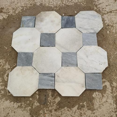 baldosas octagonales en antikuas